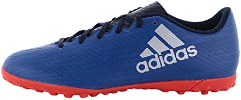 Adidas Herren X 16.4 TF Fußballschuhe Blau  44 2/3