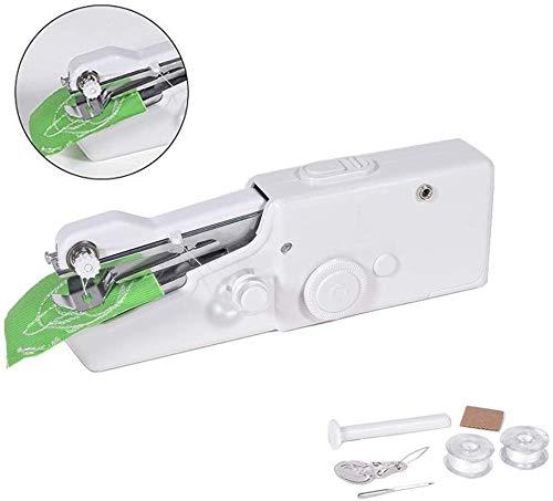 Ayutoy mini macchina da cucire portatile diy macchina per cucire handheld cordless strumento di cucitura rapida con accessori per vestiti, stoffa, tenda, e fai-da-te