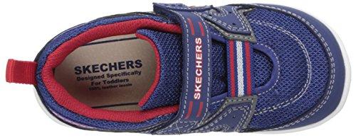 Skechers Cruzer Jungen Sneakers Blau (Nvrd)