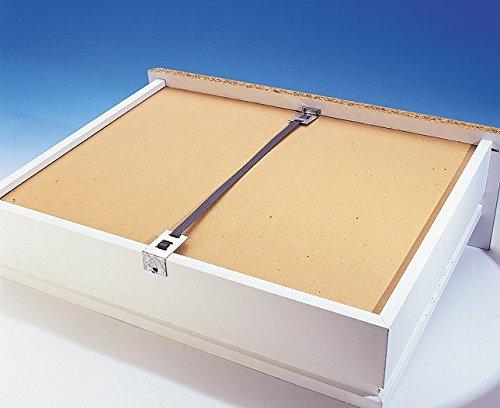 Reparatursatz für durchhängende Schubladen, 4Stück - 4 Schubladen Breite Brust