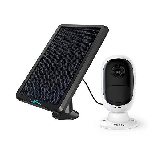Reolink Überwachungskamera Argus 2 + Solarpanel, 1080p kabellose...