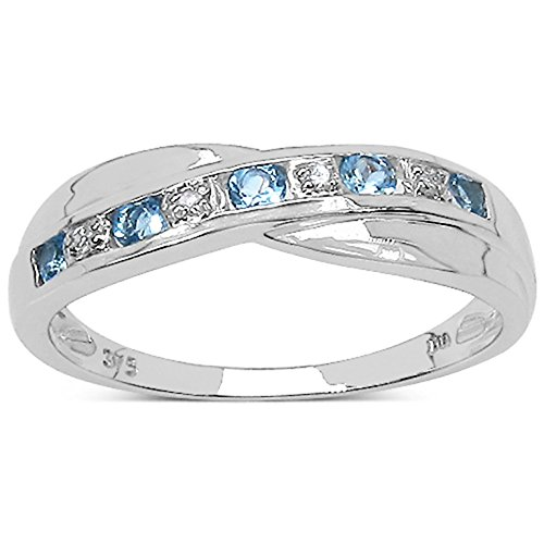 La Colección Anillo Diamante: Anillo Oro Blanco 9ct