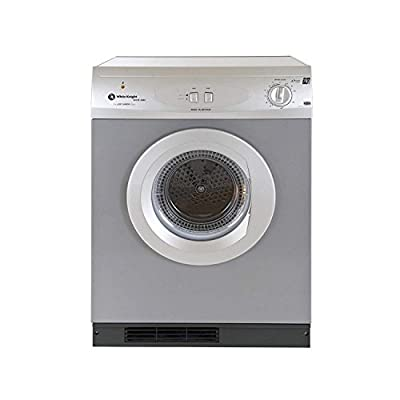 White Knight C44A7S 7kg Vented Tumble Dryer Silver from White Knight