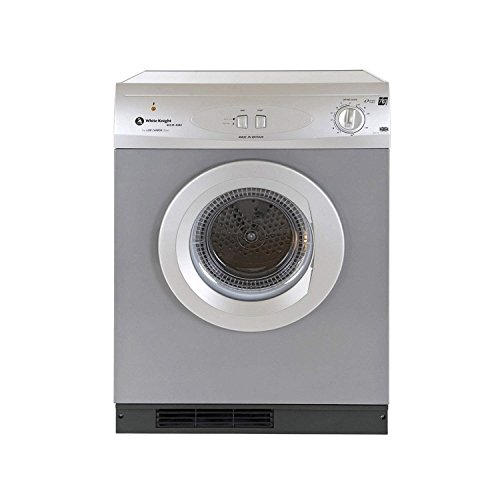 White Knight C44A7S 7kg Load Vented Dryer - Silver Best Price and Cheapest