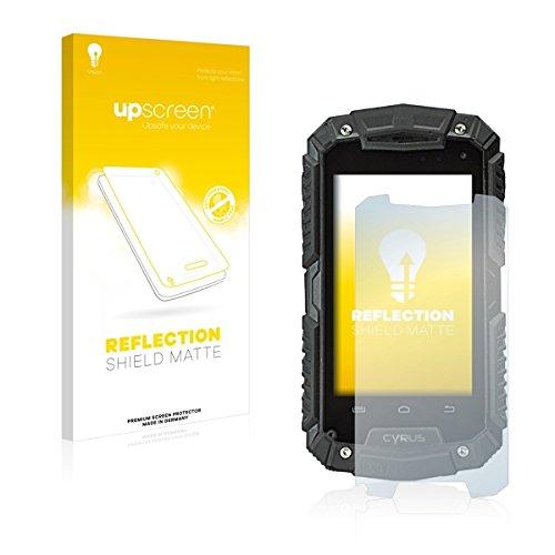 upscreen Reflection Shield Matte Bildschirmschutz Schutzfolie für Cyrus CS 20 (matt - entspiegelt, hoher Kratzschutz)