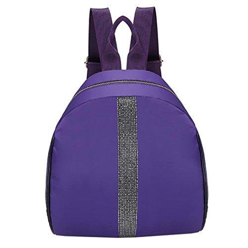 Sac à Dos Scolaire Cartable Fille,OverDose Mode Femme Fourre-Tout de Coton Nylon School Bag Backpack