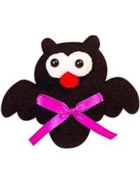 Ferrell Badge Broche de alfileres Ilumina Pumpkin Bat Glow Decoration Toy para Fiesta de Halloween