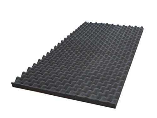 Akustik und Noppenschaum 3cm für Boxen und PC-Gehäuse Silent-Modding