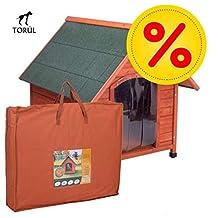 Spike Confort Torúl Set Caseta Puerta y Aislante para Mascotas Perros Gatos Talla M: 78