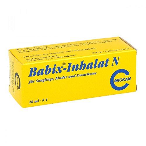 Babix Inhalat N Inhalationslösung, 20 ml