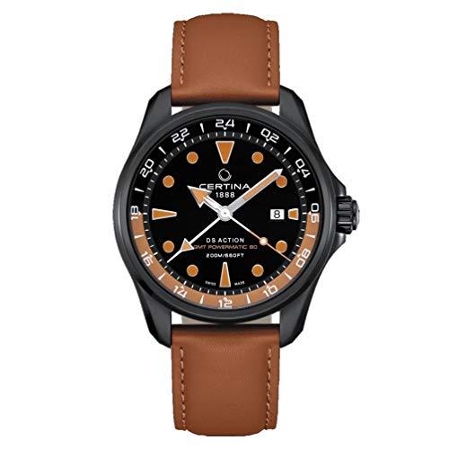 Certina DS Action Automatik-Herren-Armbanduhr GMT C032.429.36.051.00