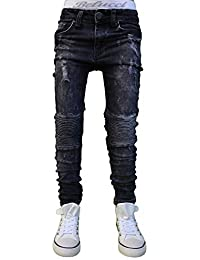 30LF32 Braun Jeans Hose Junge Kinder Jogg Jeans Bikerjeans Slim Fit Stretch neu