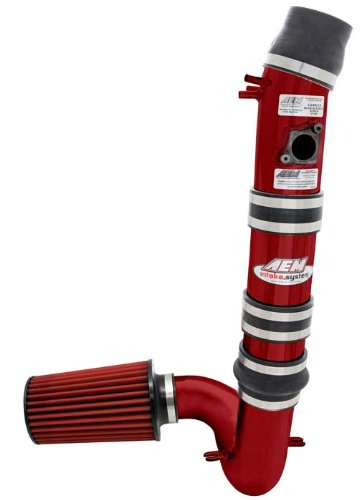 AEM 21-485R Red Cold Air Intake System by AEM - Cold Intake Systeme Air