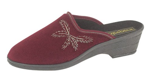 Sleepers, Pantofole donna Rosso (Wine)