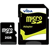 Nouvelle Vida IT 2Go Carte mémoire Micro SD pour Samsung - Galaxy Ace S5830I - Galaxy Appeal I827 - Galaxy Attain 4G - Galaxy Axiom R830 Téléphone mobile - Tablette PC - Garantie à vie