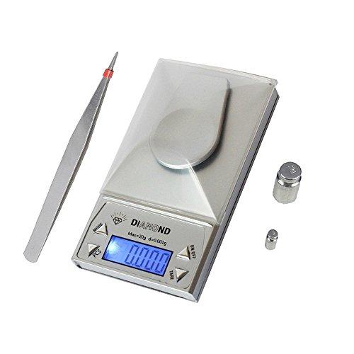 BeGrit - Báscula para equipaje  plateado plata