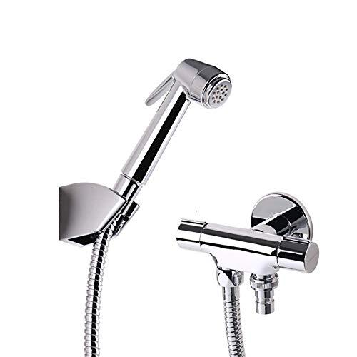 JXWWN Bidet Handbrause Toilette Bad Bidet Für Bidet Armaturen Wc Waschen Edelstahl Duschkopf Bidet Windel Dusche Tierbad Wasserspar Wand Waschen. -