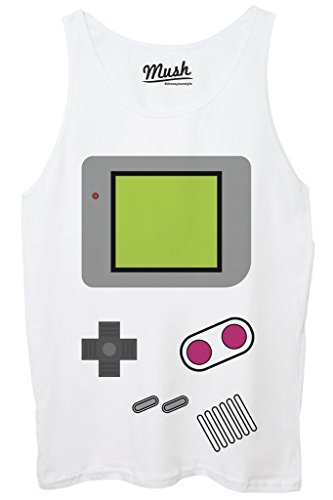 Canotta GAME BOY NINTENDO VIDEOGAME - GAMES by MUSH Dress Your Style - Donna-M-BIANCA