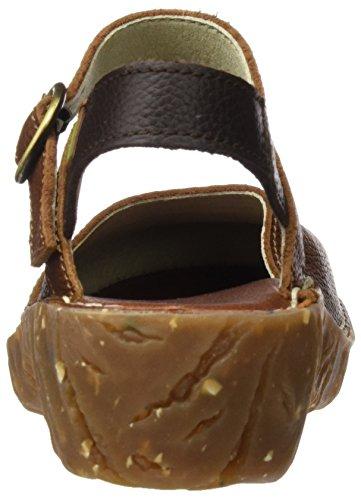 El Naturalista N178 Soft Grain Yggdrasil, Escarpins à Bout Fermé Femme Marron (Wood / Brown)