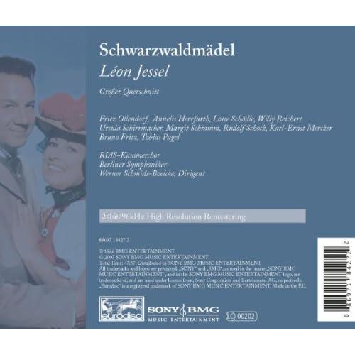 Jessel: Schwarzwaldmädel