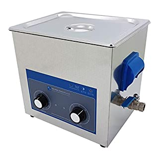 9 Litre Dial Ultrasonic Cleaner Tank with Heated Bath -220V