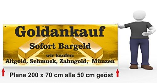 Werbebanner Goldankauf