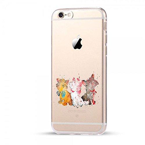 Disney Aristocats Schutzhülle Appel Iphone Serie TPU transparent Silikon Case Appel Iphone Cartoon Hülle -AcAccessoires (Iphone 5/5S/5SE)