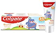 Colgate Kids Toothpaste Natural Mint Flavour, 3-5 Years, 60 ml