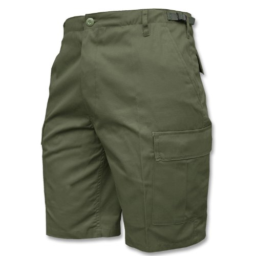 Mil-Tec BDU Bermuda oliv (GR.M) (Cargo Bdu Shorts Combat)