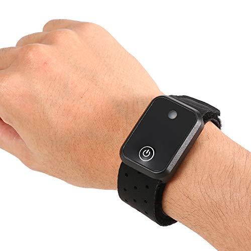 Explopur Pulsmesser Armband ANT + BT Double Mode Pulsmesser Arm Strap Runner Radfahren Fitness Tracker