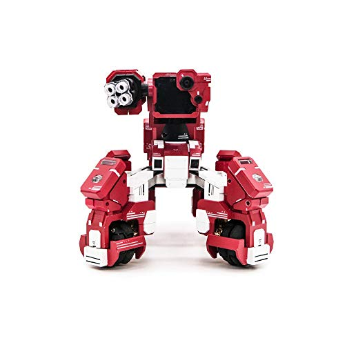 GJS Le Robot de Combat GEIO FPS avec Reconnaissance Visuelle, Rouge