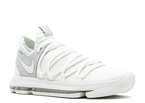 uk availability 4f448 d1d0c Zapatillas de baloncesto Nike para hombre Kevin Durant KD 10 Chrome, blanco    cromo 897815