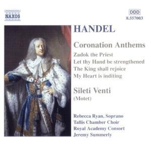 Haendel - Coronation Anthems / Silete Venti