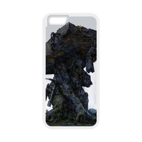 Df Statue Dwarf Fortress coque iPhone 6 Plus 5.5 Inch Housse Blanc téléphone portable couverture de cas coque EBDXJKNBO09426