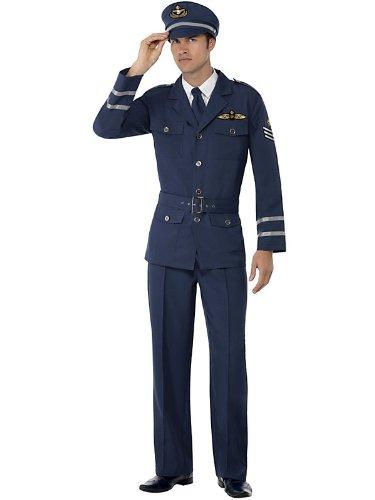 ww2 air force Captain Costume-Size l