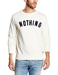 Springfield Cc Crew Nothing - Sudadera sin capucha para hombre