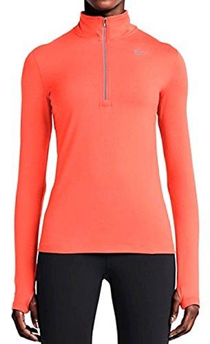 Nike Women's Dry Fit Element Half Zip Running Top Womens Half Jacket