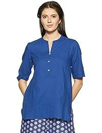 Akkriti by Pantaloons Women's Cambric A-Line Kurta