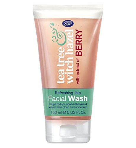 Boots Tea Tree & Witch Hazel Refreshing Jelly Facial Wash 150 ml