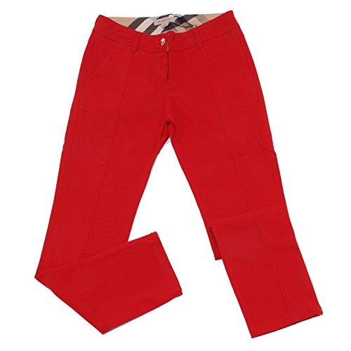 BURBERRY 4075U Pantalone Bimba Rosso Trouser Pant Girl [10 years]