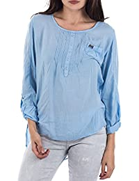 M.O.D Damen Regular Fit Bluse SP15-BL115