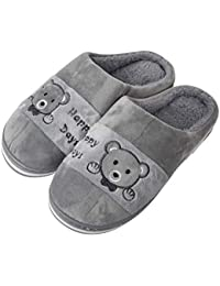 Tattooz Indoor Slippers Warm Slippers Winter Bedroom Home Slippers for Unisex
