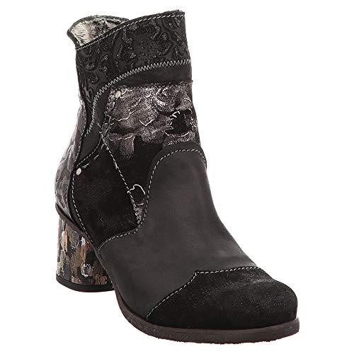 Charme   Stiefelette - Schwarz, Farbe:Schwarz, Größe:38
