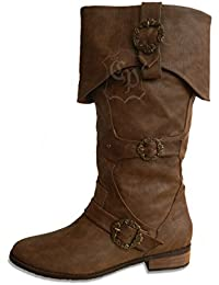 CP-Schuhe - Botas de Material Sintético para mujer marrón marrón 36