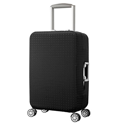 Elastico Cover Proteggi Valigia, Anti-Polvere Copertura per Valigia proteggi valigie protettiva Cover, Nero (XL)