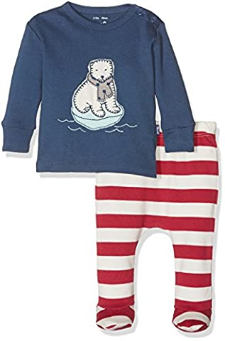 Kite Polar Bear Set, Ensemble Mixte Bébé, Multicolore-Multicoloured (Navy/Red), 18 Mois