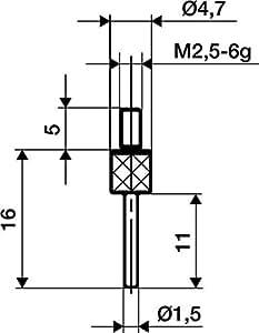 Format 7642370006–mediciñn für HM Abb. 14/1,5mm Käfer
