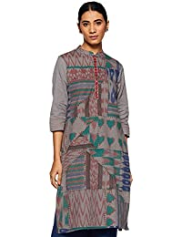Amazon Brand - Myx Women's A-Line Kurti