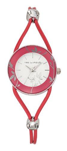 Ted Lapidus A0525REIE - Reloj de pulsera mujer, piel, color naranja