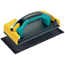 Wolfcraft 4056000 - Lijadora manual para planchas de placa de yeso y escayola. Incluye mango intercambiable de 2 componentes, 1 tela de rejilla lijadora 220 x 105 mm